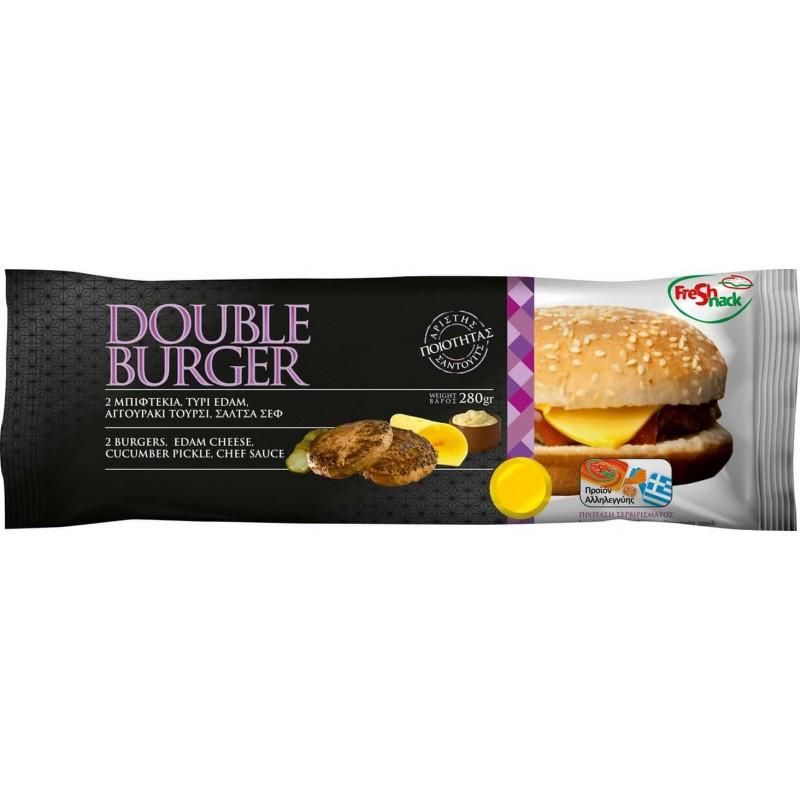 Sandwich double burger Snacks