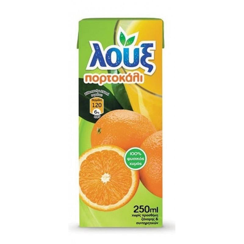 Λουξ χυμός πορτοκάλι 250ml Αναψυκτικά